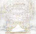 酒店花巨资改造的婚礼宴会厅,几千就能用的婚礼堂高端装修